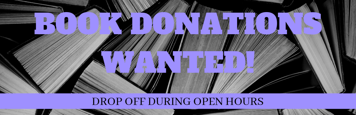 Book Donations Wanted!