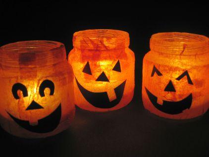 Teen Crafternoon: Halloween Votives @ Aloha Community Library